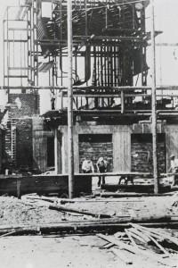 Bau des Heizhauses St. Pölten, 1947/49