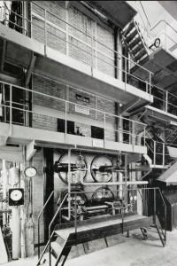 Einer der vier SGP Strahlungskessel im Fernheizkraftwerk